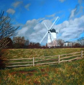 Acrylic on Canvas, 60 x 60 cm.