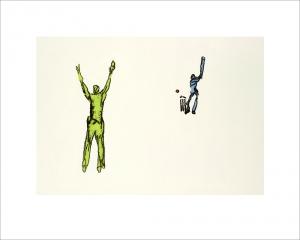 Limited edition giclee prints 1-25. Fits frame size 50 x 40 cm.  Framed £120 Unframed £90